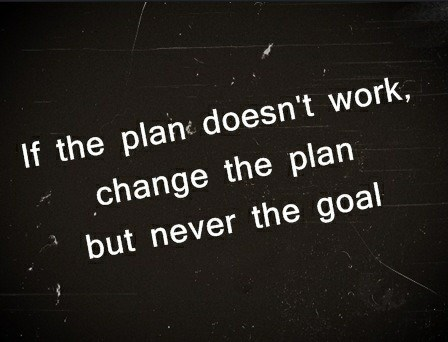Plan B...C...D...